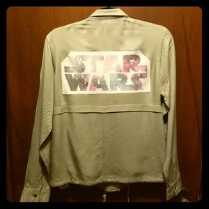 STAR WARS Upcycled Army Green Utility Jacket